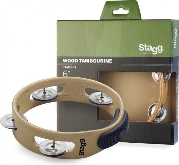 Stagg TAW-061 6 Zoll Schellenring - 1 reihig