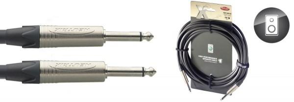 Stagg XSP10PP15 X-Serie, Lautsprecherkabel - Klinke / Klinke - 2 x 1,5mm