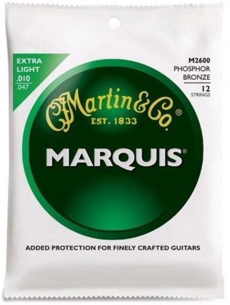"""Marquis """"Phosphor Bronze"""" Saitensatz für 12-saitige Akustikgitarre"""