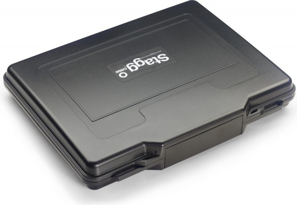Stagg SCF-I322505 Wasser- und Staub-geschütztes Case für iPad oder andere Tablets, mit Pick 'n' Pluc