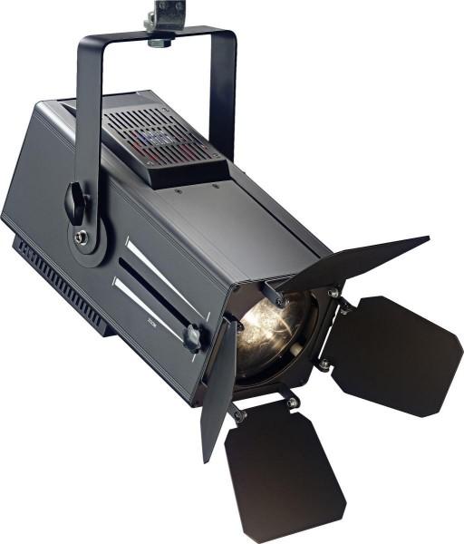 Stagg SLWM60ZD32B-0 60-Watt Wash Mini-Spotlight, warmes Licht, schwarzes Metallgehäuse (Mini Wash 60