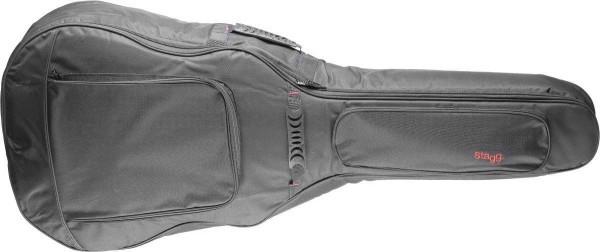 Stagg STB-GEN 20 J General Serie gepolsterte Wasser-abweisende Nylontasche für Western Jumbo Gitarre