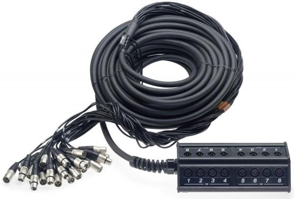 Stagg NSB-30/16X8XR N Serie, Deluxe Stagebox mit 16 x XLR W/ 8 x