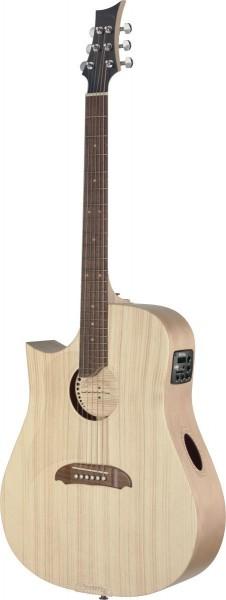 Riversong TRAD CDN P N LH Tradition Serie 4/4 Cutaway Dreadnought Akustikgitarre mit eingebautem Pre