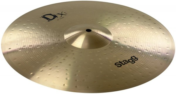 Stagg DX-C16 16 Zoll Crash-Becken aus Messing