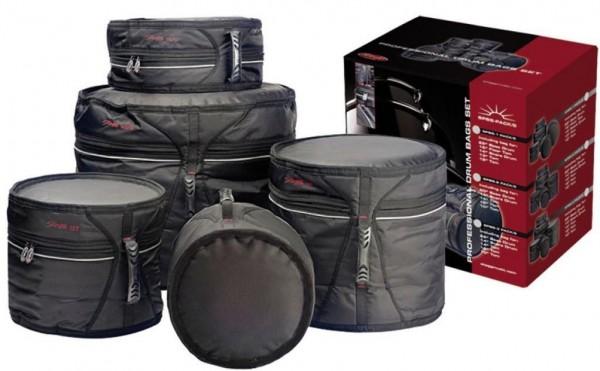 Stagg SPBS-3 PACK/5 DELUXE Schlagzeugtaschensatz