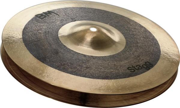Stagg BM-HR10 10 Zoll Black Metal Rock Hi-Hat