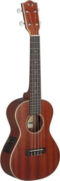 Stagg Elektro-Akustik-Konzertukulele UC80-SE Mahagoni-A-decke inkl. Gigbag + Tonabnehmer