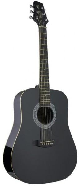 Stagg SW201 3/4 BK Akustische Dreadnought Gitarre