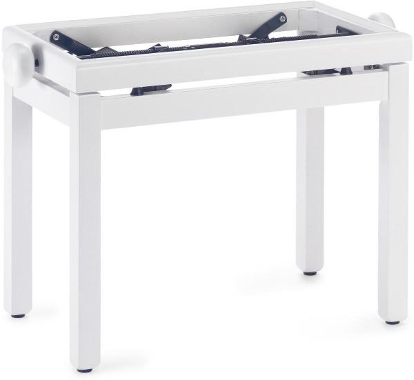 Stagg PB39 WH M Klavierbank in Weiss matt