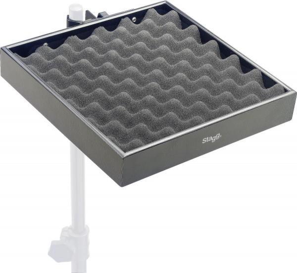 Stagg PCTR-3030 BK Percussion-Ablage mit Klammer für Stative