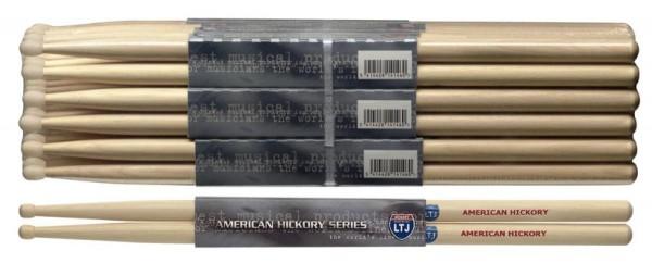 Stagg SHLTJ American Hickory Drumsticks Holz Tip Latin Jazz Sticks Preis für 1 Paar