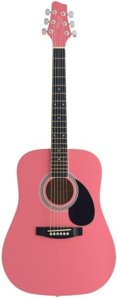 Stagg SW201 3/4 PK Akustische Dreadnought Gitarre