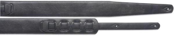 Stagg SLPL 10 BLK Gitarrengurt gepolstert aus schwarzem Leder (5cm) - Standard