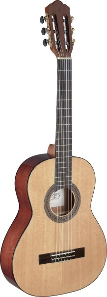 Angel Lopez MEN-3/4 S Mencia Serie 3/4 klassische Gitarre mit massiver Fichtendecke