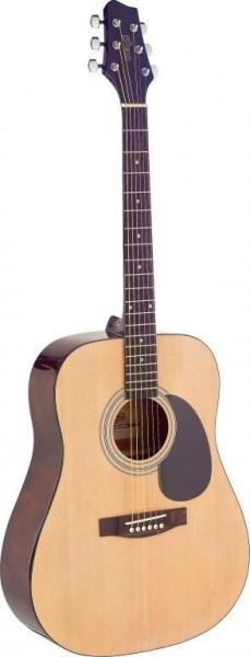 Stagg SA40D-N Dreadnought, akustische Gitarre m. Fichtendecke