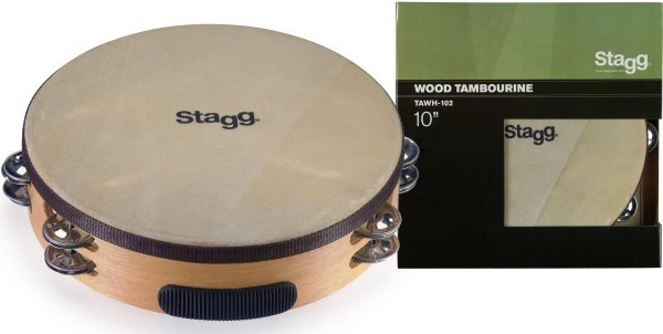 Stagg TAWH-102 10 Zoll vorgestimmtes Holz-Tambourin