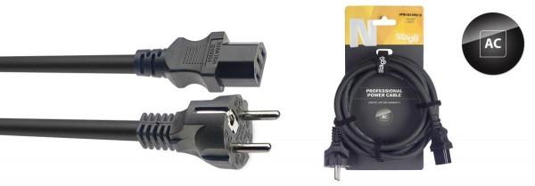Stagg NPW1,5IECFPEU10 N-Series IEC F - EU Schuko M Netzkabel