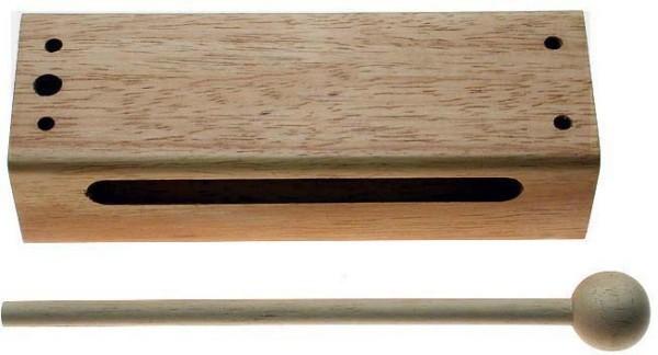 Stagg WB326L Großer Thai Block aus Holz mit Schlegel