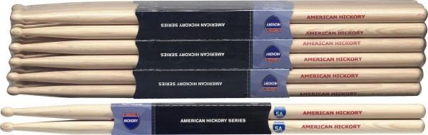 Stagg SH5A American Hickory Drumsticks Holz Tip / 5A / Preis für 1 Paar