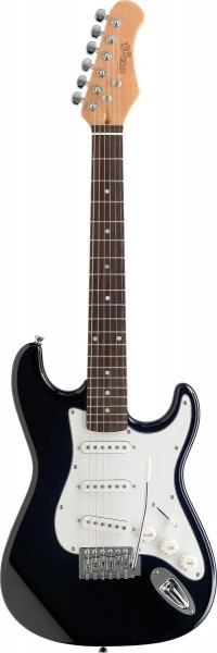 Stagg S300 3/4 BK Standard S E-Gitarre - 3/4 Model