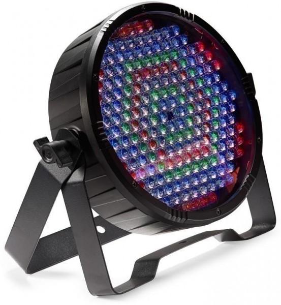 Stagg SLI-ECOPAR186-2 Flat ECOPAR 186 Spotlight mit 186 x 0.1-watt R/G/B/W LEDs