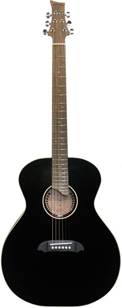 Riversong SOULSTICE BK Stagg SOULSTICE BK Grand Auditorium Gitarre mit massiver Decke aus Sitkaficht