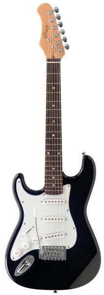 """Stagg S300 3/4 LH BK Standard """"S"""" E-Gitarre - 3/4 Linkshänder Modell"""