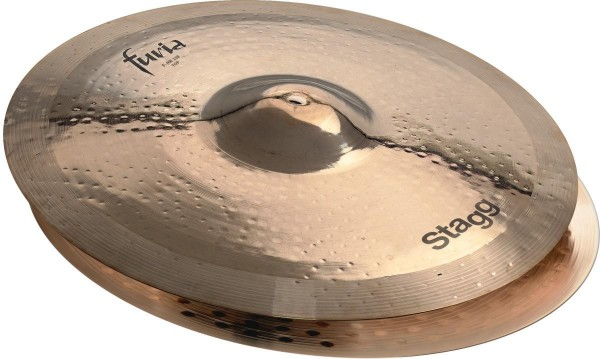 Stagg F-HR13B 13 Zoll Furia brilliant Rock Hi-Hat