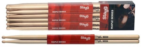 Stagg SMJZ Ahorn Drumsticks Holz Tip / Jazzsticks / Preis für 1 Paar