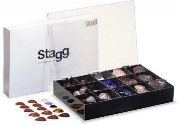 Stagg PBOX15 3er-Serie Plektren Box Klassik S Klassik E Touch S