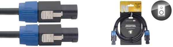 Stagg NSP6SS25BR N Serie, professioneles Lautsprecherkabel: 2x 2,5 mm2 - SpeakON / Speak