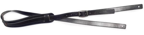 Stagg SL-RBILLY-BK Schwarz Ledergurt für Gitarre