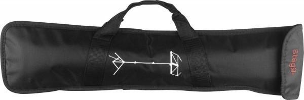 Stagg MSB-C3 Tasche für Notenständer MUS-A3/A4 Nylon schwarz mit Außentasche