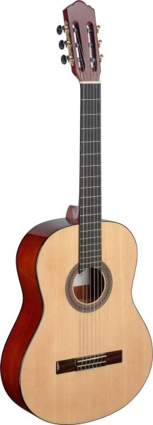 Angel Lopez MEN S Mencia Serie klassische Gitarre mit massiver Fichtendecke