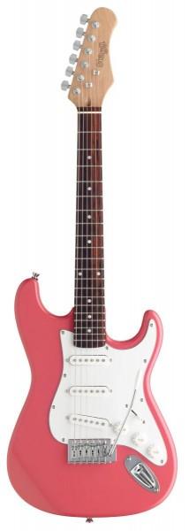 Stagg S300 3/4 PK Standard S E-Gitarre - 3/4 Modell