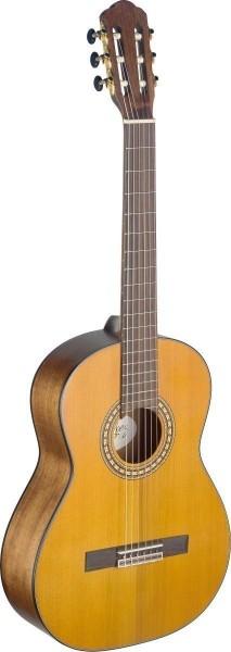 Angel Lopez SIL-M Silvera Serie 4/4 klassische Gitarre mit massiver Fichtendecke