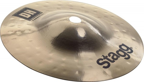 "Stagg DH-SM6B 6"" DH Brilliant medium Splash - doppelt gehämmert"