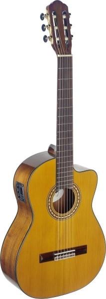 Angel Lopez SIL-CE HG Silvera Serie 4/4 Cutaway eingebauter Preamp klassische Gitarre mit massiver F