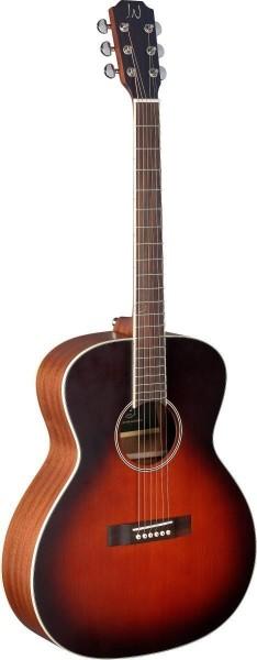 James Neligan EZR-J EZR-J Akustik Jumbo Gitarre mit massiver Decke Zeder, Esra Serie
