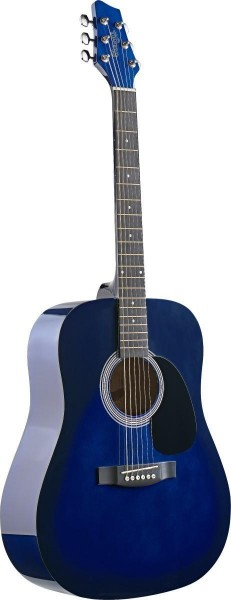 Stagg SW201BLS Akustische Dreadnought Gitarre