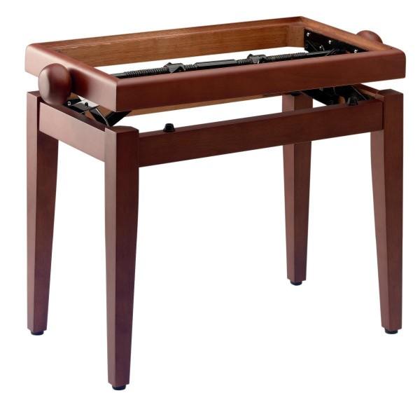 Stagg PB45 CHMM Matt, Klavierbank, Farbe dunkles Wildkirsch, ohne Sitzfläche