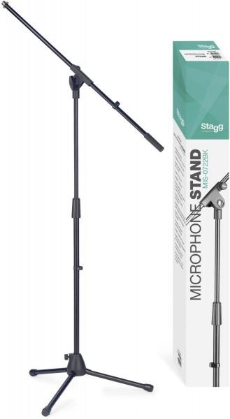 Stagg MIS-0722BK Mikrofon-Galgenständer, Budget Modell