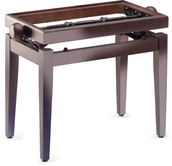 Stagg PB45 MA P Klavierbank in Mahagoni poliert, Modell PB 45