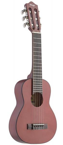 Stagg UKG-20 Klassische Gitarre in Ukulele-Größe mit Decke aus Ahorn