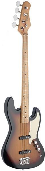 "Stagg SBJ-50 SB 4-saitige Custom ""J"" Serie E-Bassgitarre"