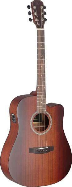 James Neligan DEV-DCFI BBST DEV-DCFI BBST Deveron Serie Cutaway Elektro-Akustikgitarre mit Decke aus