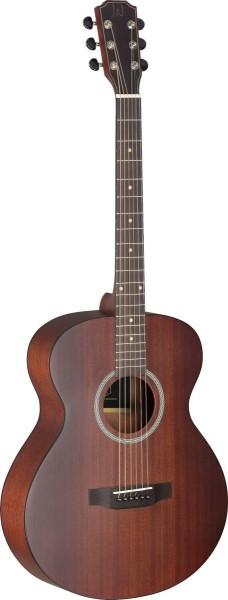 James Neligan DEV-A BBST Auditorium Akustikgitarre mit Decke aus massivem Mahagoni, Deveron Serie