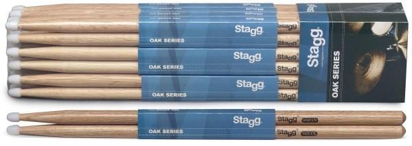 Stagg SO5AN Eiche Drumsticks Nylon Tip / 5A / Preis für 1 Paar