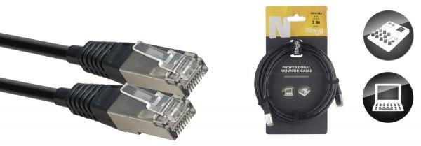 Stagg NCC3RJ N-Serie CAT6 SFTP Professionelles Netzwerkkabel